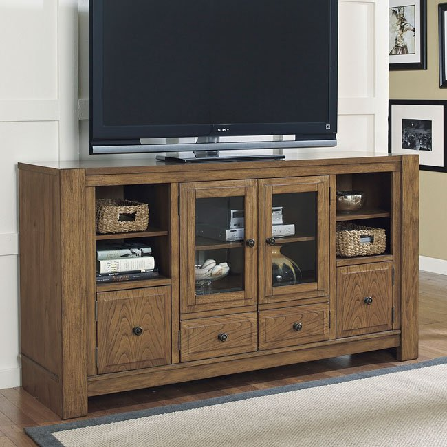 Birnalla Extra Large Tv Stand By Signature Design By Ashley