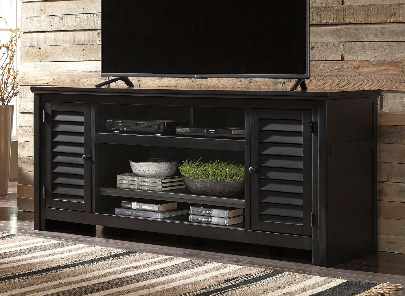 Ashley Furniture Sofas >> Brasenhaus Extra Large TV Stand - TV Stands and TV Consoles - TV Stands and Entertainment ...