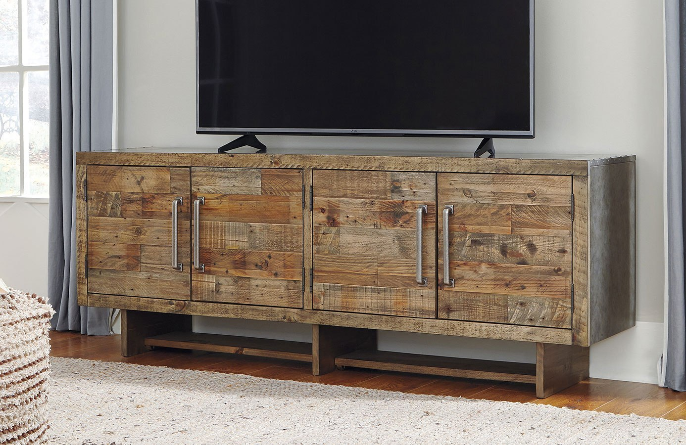 Mozanburg Extra Large Tv Stand By Signature Design By Ashley