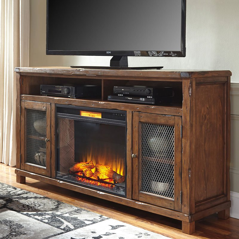 Tamonie Extra Large Tv Stand W Fireplace Insert Tv Stands And Tv Consoles Tv Stands And