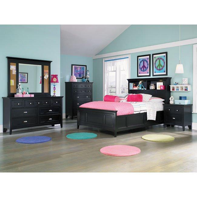 Bennett Bookcase Bedroom Set By Magnussen Furniturepick
