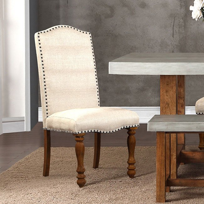 Bohemian Upholstered Side Chair (Set Of 2) By Legends Furniture