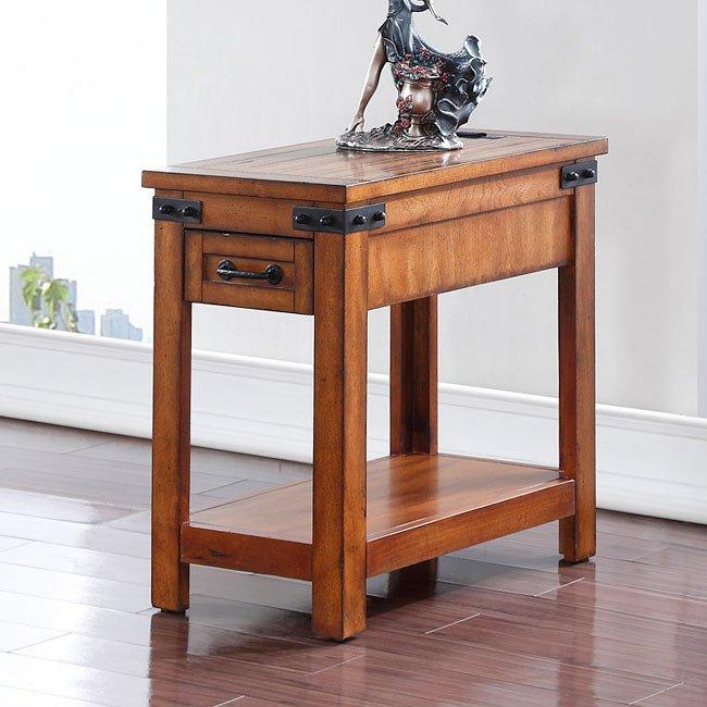 Industrial Side Table By Legends Furniture Furniturepick