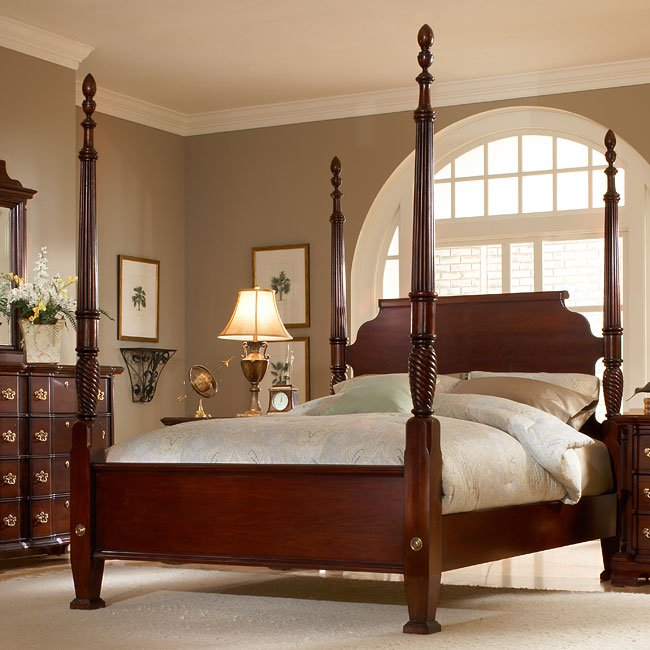 Lasting Traditions Poster Bed American Woodcrafters Furniturepick