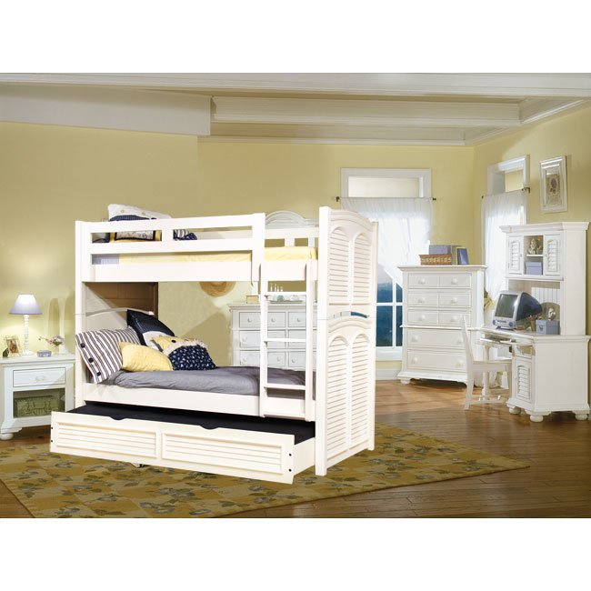 Peachy Cottage Traditions Youth Bunk Bedroom Set White Best Image Libraries Counlowcountryjoecom