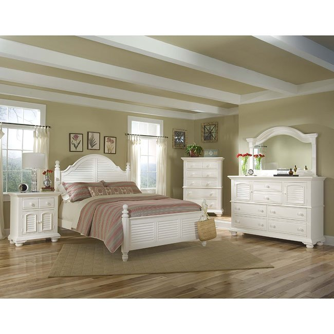 Terrific Cottage Traditions Poster Bedroom Set White Best Image Libraries Counlowcountryjoecom