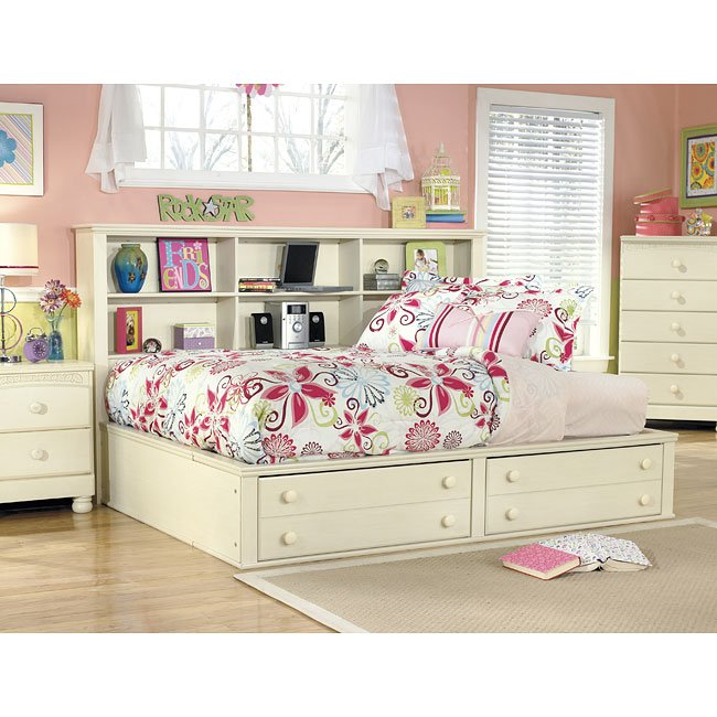 Cottage retreat bookcase bedroom set by signature design - Cottage retreat bedroom furniture ...