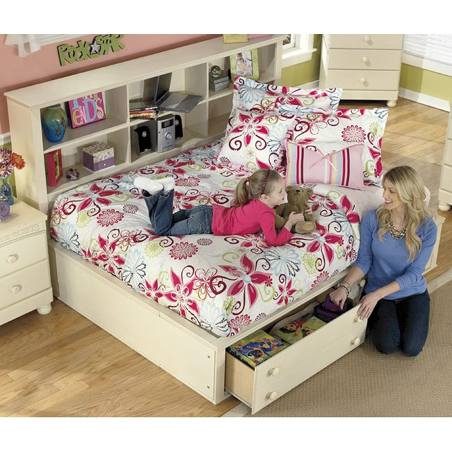 Cottage retreat bookcase bedroom set by signature design - Cottage retreat collection bedroom furniture ...