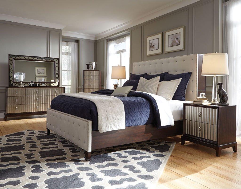 Gramercy upholstered bedroom set magnussen furniturepick Gramercy bedroom furniture collection