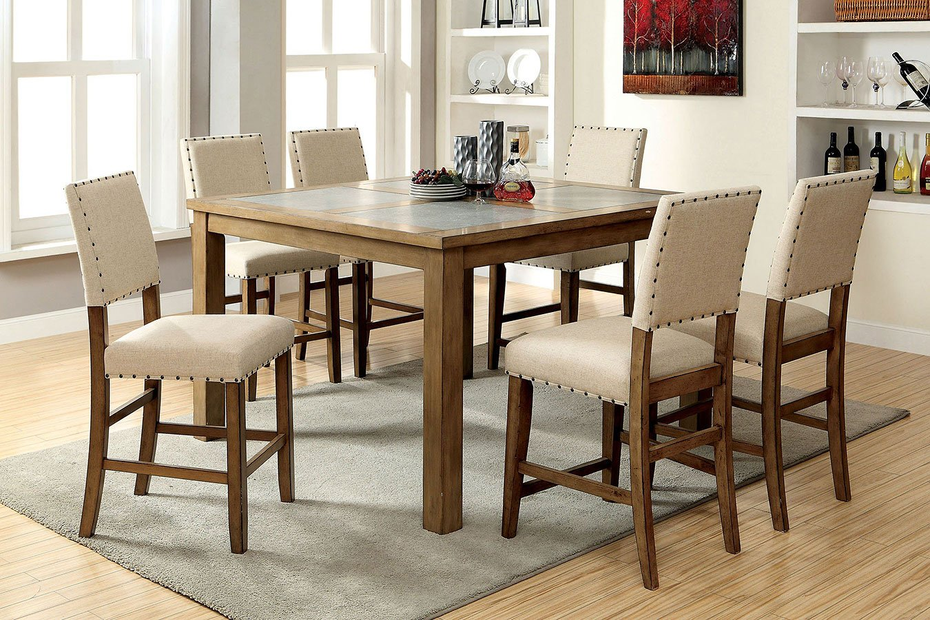 Melston II Counter Height Dining Room Set