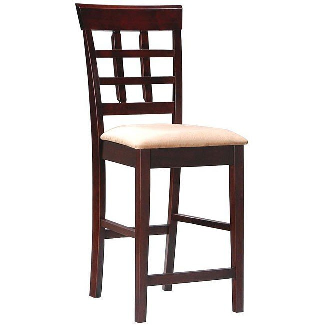 Mix And Match Wheat Back 24 Inch Barstool Cappuccino Set Of 2 By