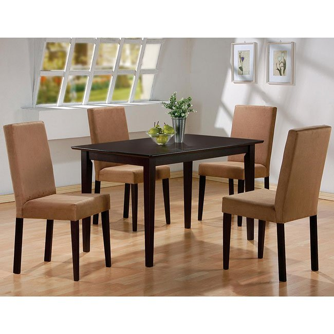 Mix and match casual dining room set coaster furniture for Casual dining room sets