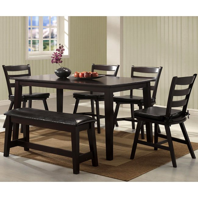 Seattle Dining Room Set By Coaster Furniture