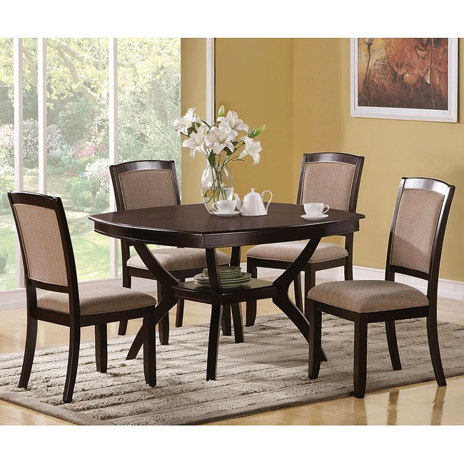 Memphis Furniture Company: Memphis Rounded Dinette By Coaster Furniture, 1 Review(s