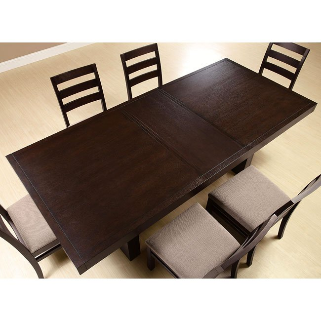 Dabny Cappuccino Dining Room Set By Coaster Furniture 2
