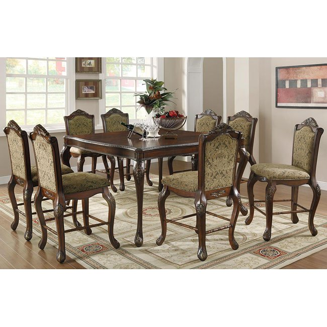 Andrea Formal Dining Room Set Coaster Furniture: Andrea Counter Height Dining Room Set By Coaster Furniture