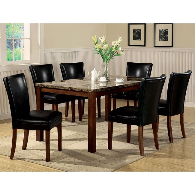 Telegraph Dining Room Set With Two Chair Choices By