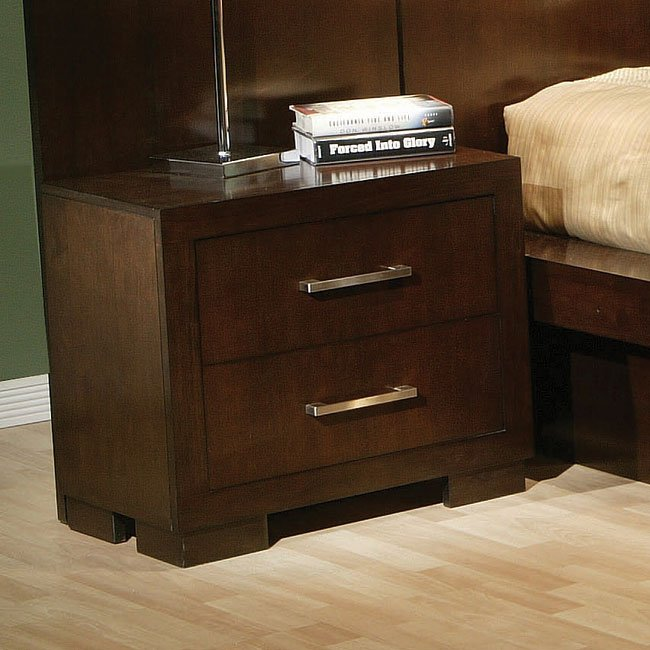 Jessica Night Stand Coaster Furniture Furniturepick