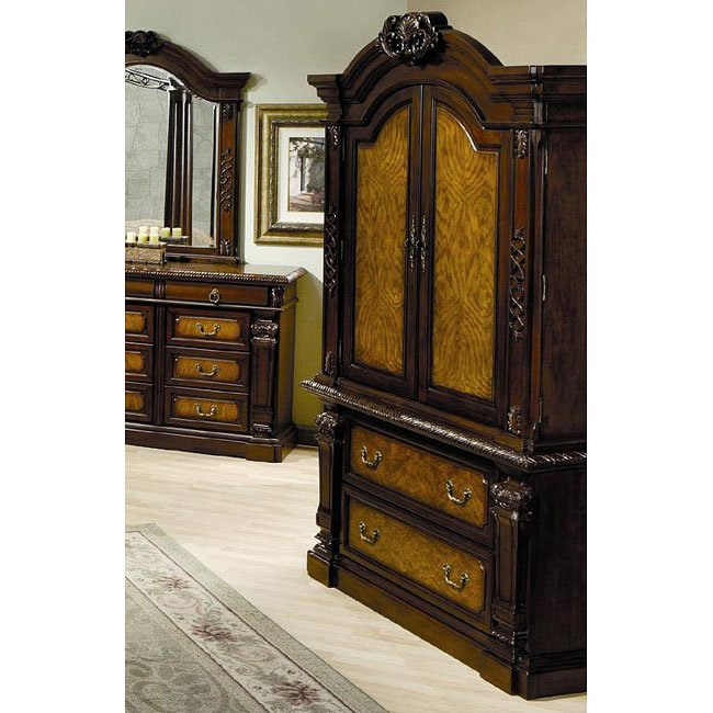 Montecito Canopy Bedroom Set By Coaster Furniture