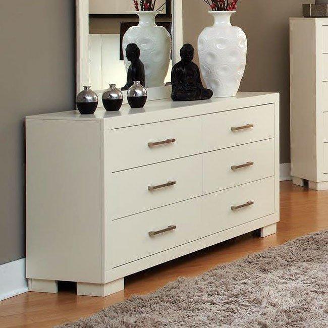 Jessica White Dresser By Coaster Furniture