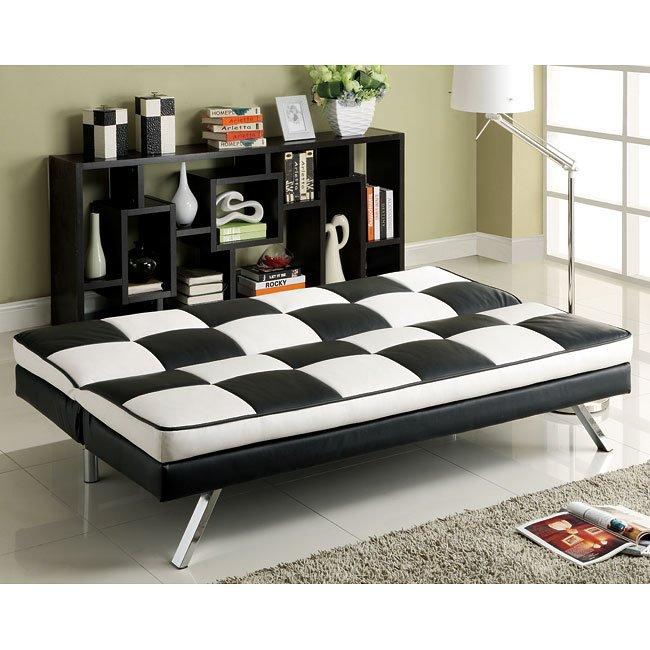 click clack retro sofa bed by coaster furniture furniturepick