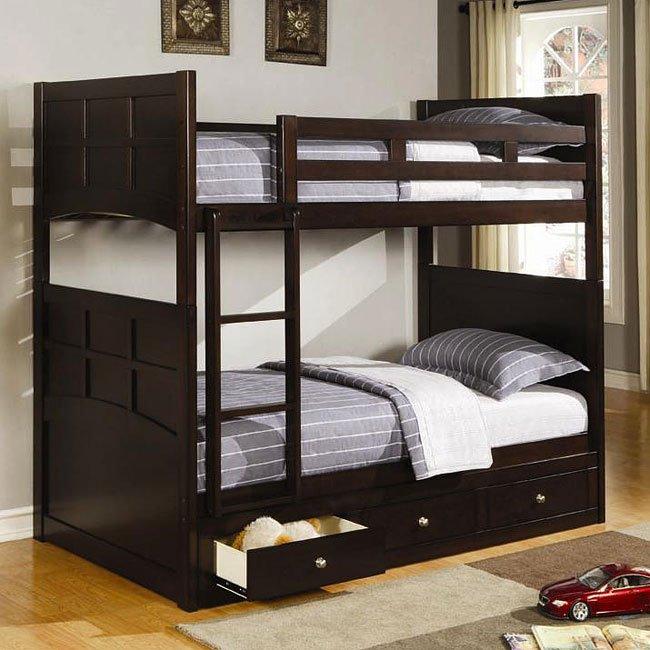 Jasper Youth Bunk Bedroom Set