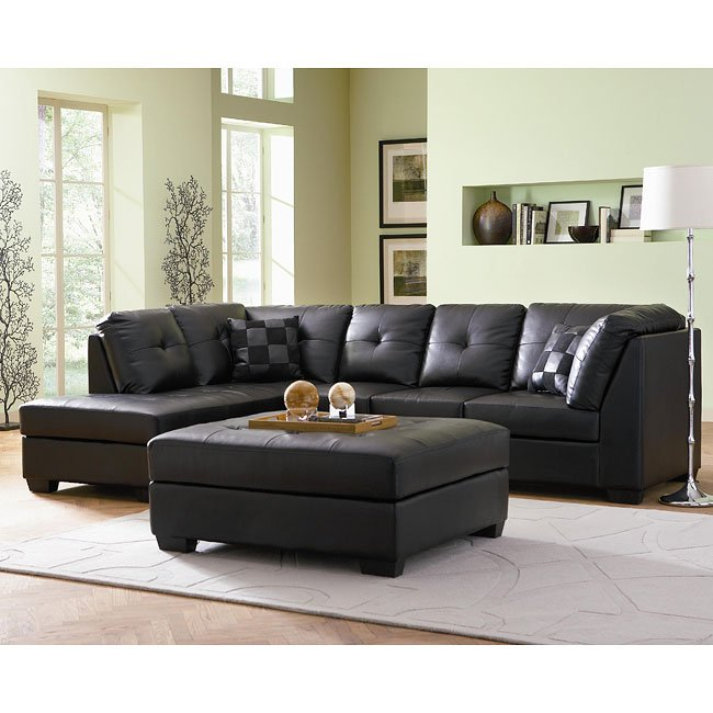 darie sectional living room set coaster furniture