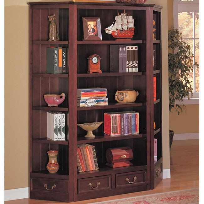 Traditional 3 Piece Bookcase