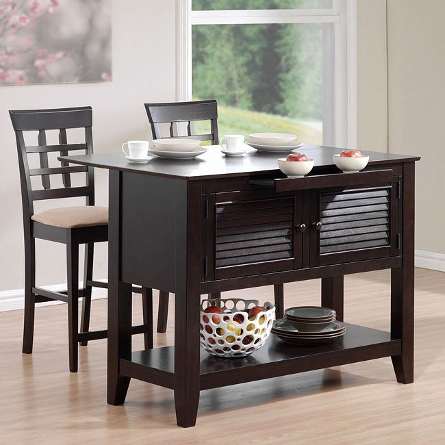 Mix Match Kitchen Chairs: Mix And Match Kitchen Island Set By Coaster Furniture