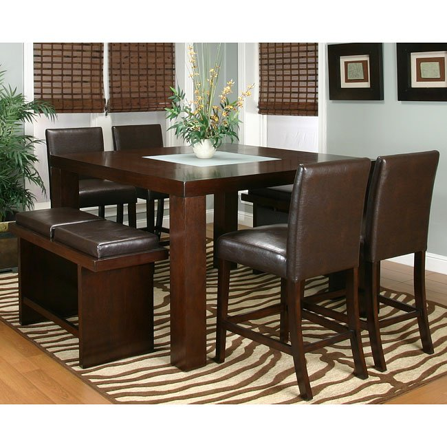 Dining Room Sets For 2: Kemper Counter Height Dining Room Set With 2 Chair Options
