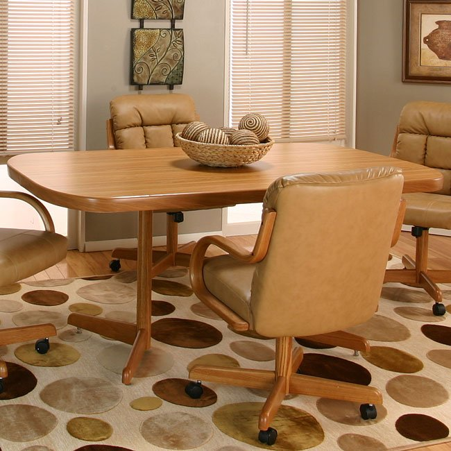 Atwood Rustic Oak Dining Table Cramco