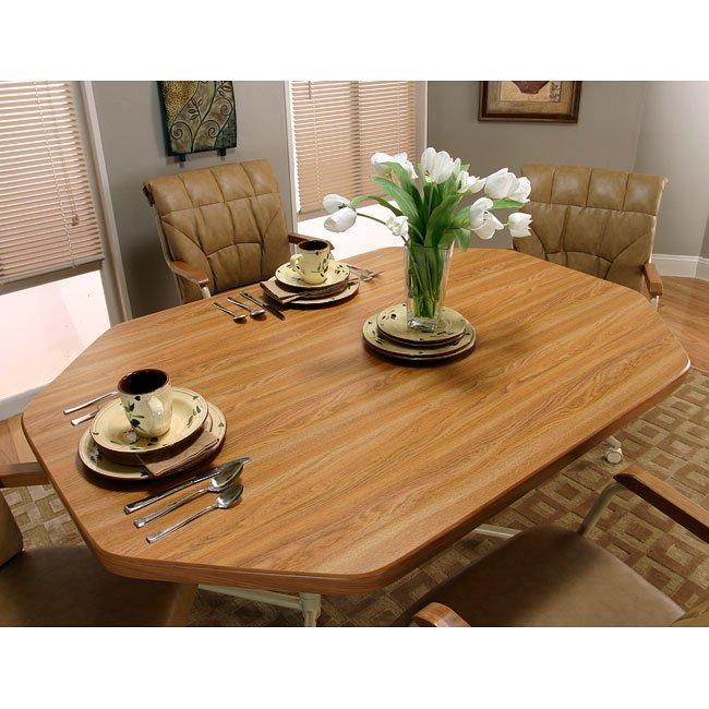 Marlin Octagonal Dining Room Set