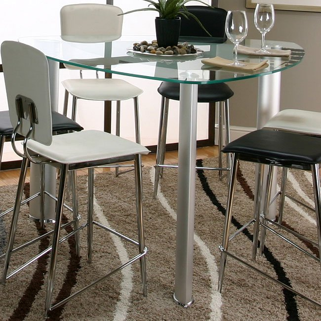 Sirius Triangle Counter Height Dining Table By Cramco Furniturepick