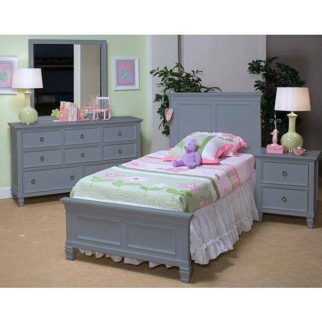 Tamarack Youth Panel Bedroom Set (Gray)