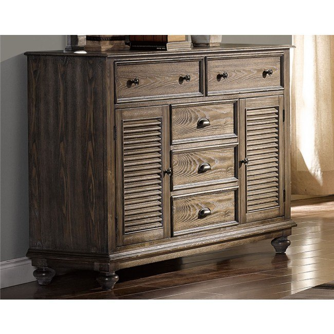 Lakeport Dresser (Pewter)