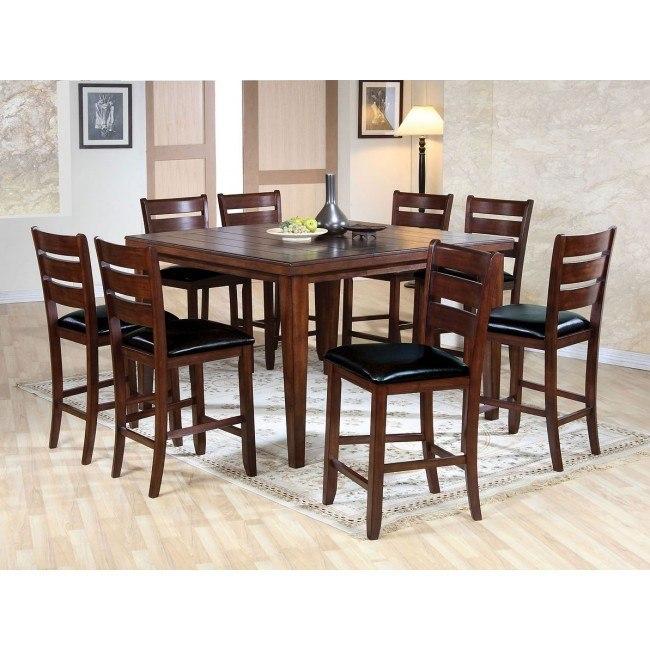 Urbana Counter Height Dining Room Set (Cherry)