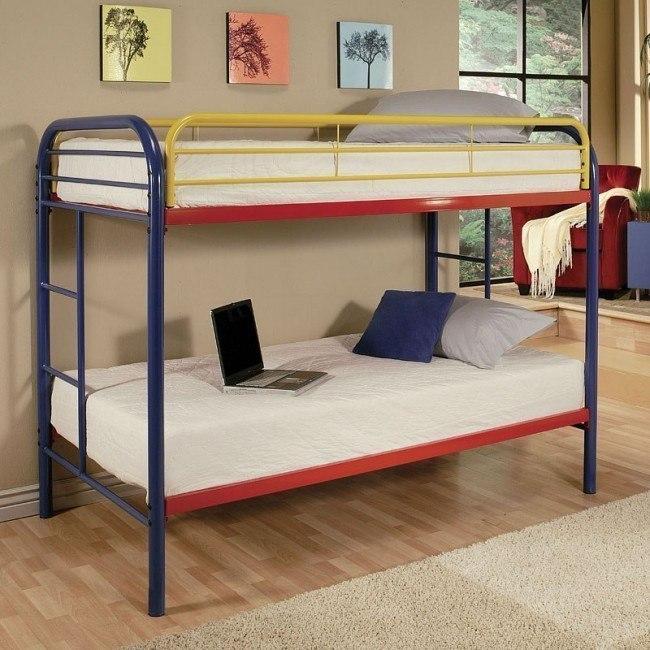 Thomas Twin Bunk Bed (Rainbow)