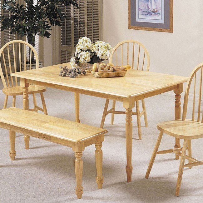 Farmhouse Dining Table (Natural)