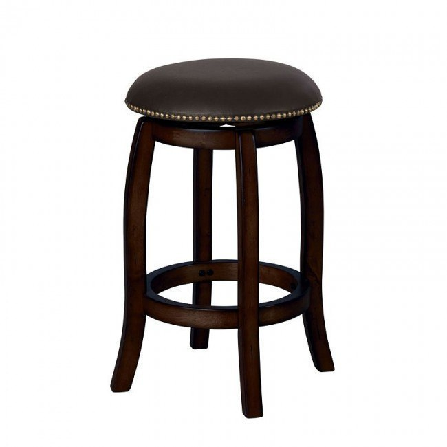 Chelsea Counter Stool w/ Swivel (Espresso)