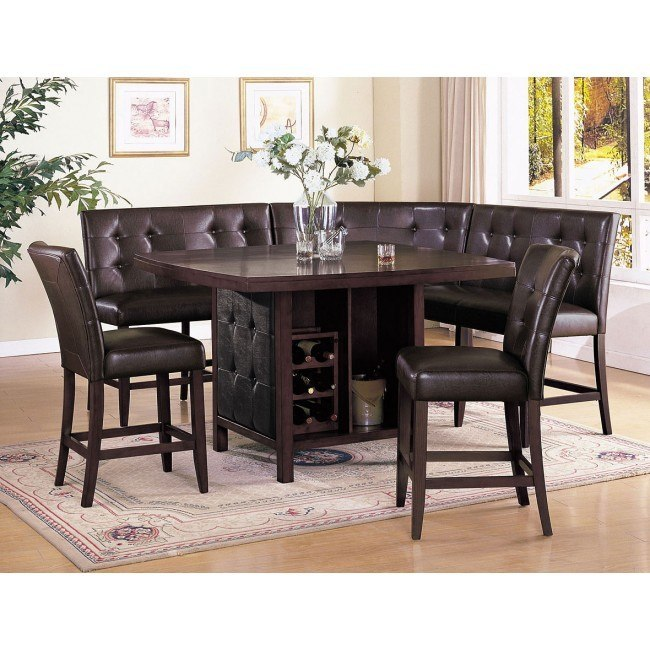 Bravo Counter Height Dining Set w/ Earline Chairs