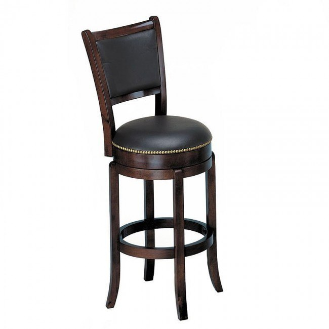 Chelsea Swivel Bar Chair (Espresso)
