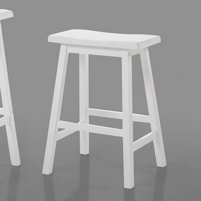 Gaucho Counter Height Stool (White) (Set of 2)