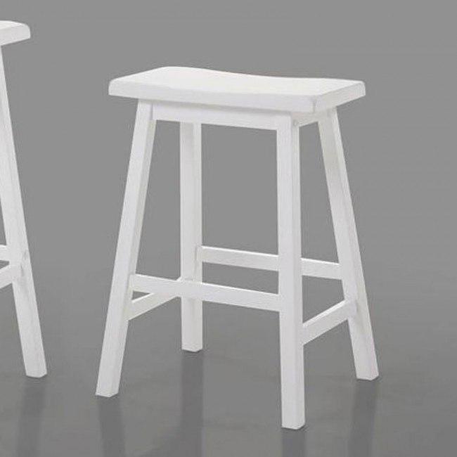 Gaucho Counter Height Stool (White) (Set of 2)
