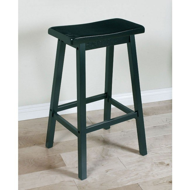 Gaucho Barstool (Black) (Set of 2)