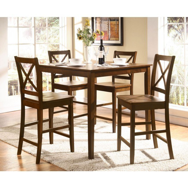 Martha 5-Piece Counter Height Dining Set
