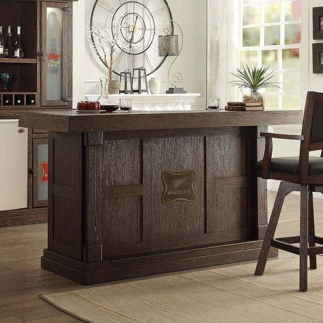 Miller High Life 82 Inch Home Bar