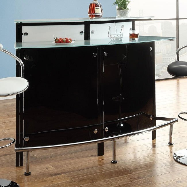 Contemporary Arched Bar