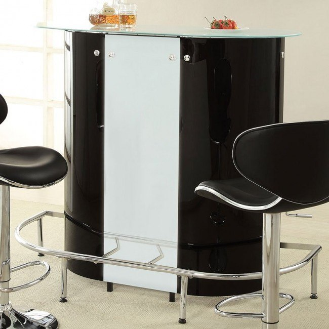Kidney Shaped Bar Table