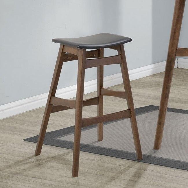 Mid Century Modern Bar Stool Set Of 2 By Coaster Furniture Furniturepick