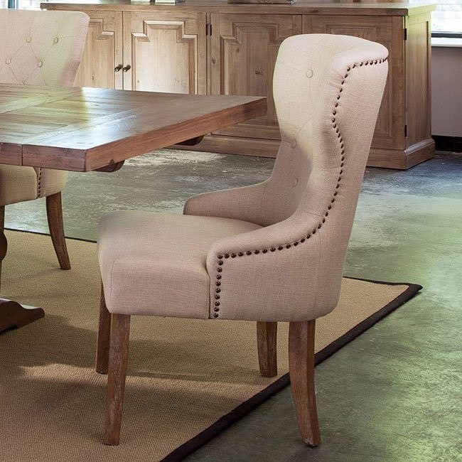 Florence Upholstered Tufted Back Chair